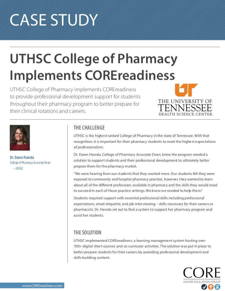 University of Tennessee Case Study